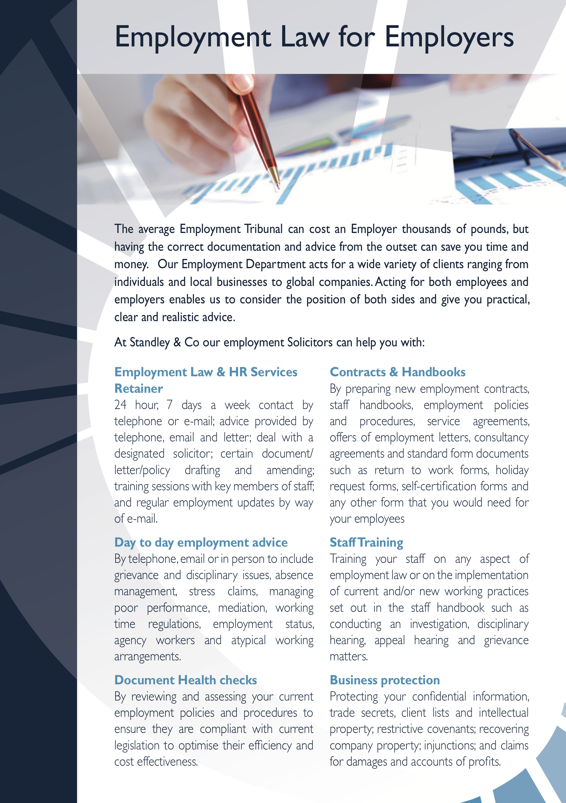 Employment Law - Employers